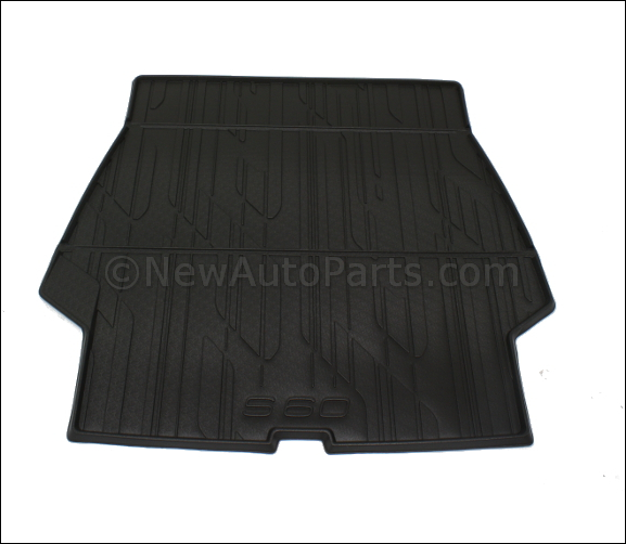 Luggage Compartment Mat - Molded Plastic