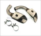End Pipes - Rectangular - Gasoline - 6-Cylinder
