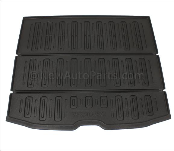 Load Compartment Mat, Molded Plastic