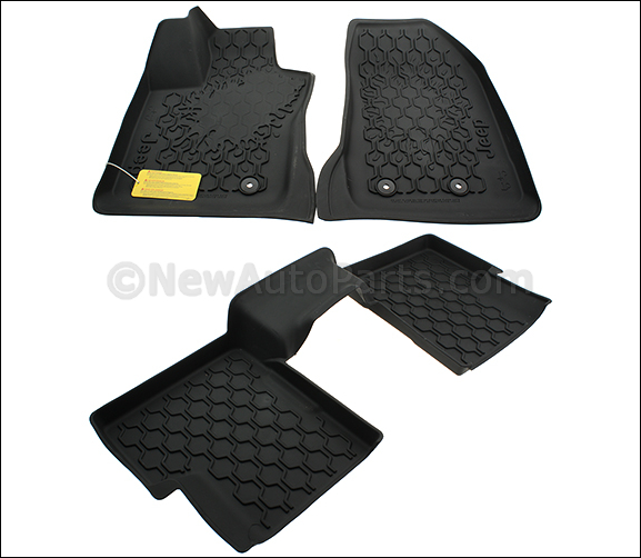 All-Weather Mat Floor Mats - Black