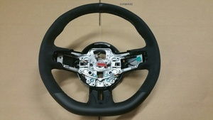 2015-2016 GT350 Steering wheel with white stitching.