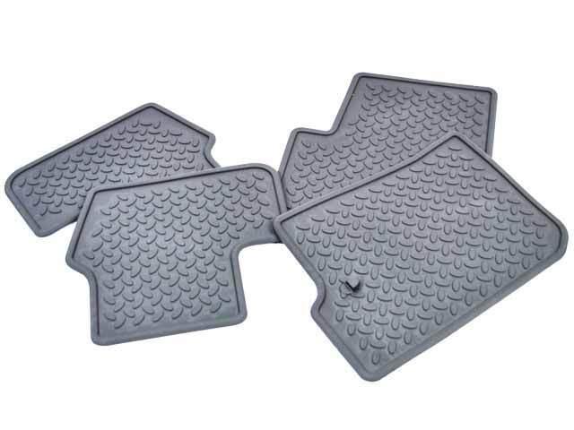 Slush Floor Mats - Slate Gray