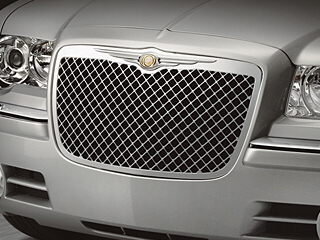 Grille Applique - Chrome