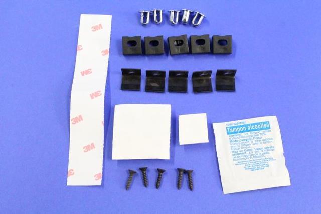 Deflector Kit, Air, , Hardware Kit