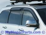 Side Window Air Deflector - Tinted