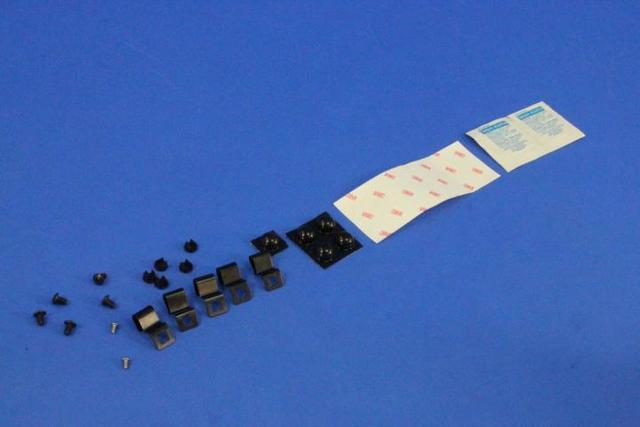 Deflector Kit, Air, Front, Hardware Kit