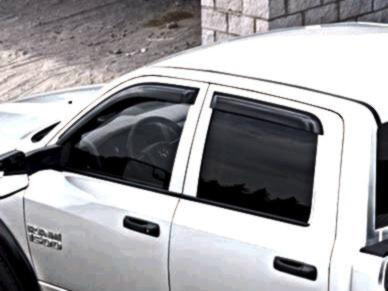 Side Window Air Deflector, Tinted, Set Of Two