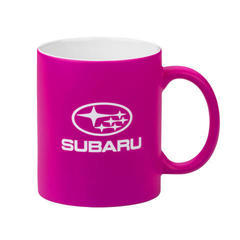 Neon Pink Ceramic  Mug