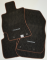 """Carpeted Floor Mats Set - """"Touring"""" Outback Wgn [2015-2017] Gray"""