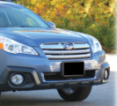 Front License Plate Mount 2013-2014 Outback