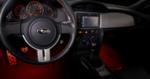 Subaru BRZ Footwell Illumination Kit (Red)