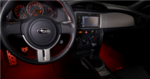 Subaru BRZ Footwell Illumination Kit (Red)