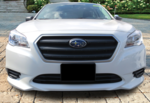 Front License Plate Mount 2015- Legacy