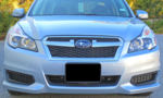 Front License Plate Mount 2013-2014 Legacy