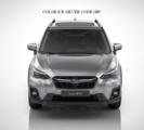 Molding Body Side, Ice Silver Metallic   [ 2018 XV Cross Trek or Impreza ] CODE G1U