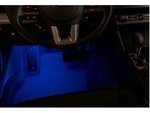 Subaru Legacy Footwell Illumination Kit / Blue