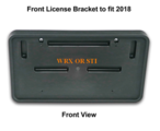 Front License Plate Mount 2018 WRX/STI