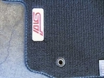 Carpeted Floor Mats Set [STI] - Special Edition Blue Sticth /Red Logo