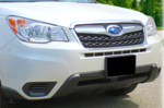 Front License Plate Mount 2014- Forester [Non-Turbo]