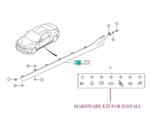 Subaru BRZ Side Under Spoiler kit / STI Logo