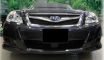 Front License Plate Mount 2010-2012 Legacy or Outback