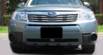 Front License Plate Mount 2009-2013 Forester