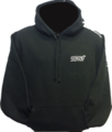 Hoody Heavyweight Black / STI Logo