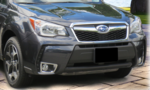 Front License Plate Mount 2014-Forester XT