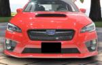 Front License Plate Mount 2015-WRX/STI