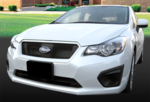 Front License Plate Mount 2012-Impreza [Non-Turbo]