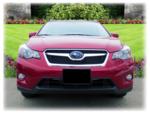 Front License Plate Mount 2013-2015 XV Cross Trek