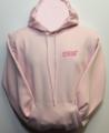 Hoody, Heavyweight Pink with STI Logo