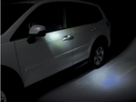 Forester Heated Side Mirror Kit - Approach Lighting