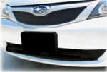 Front License Plate Mount 2008-11 Impreza