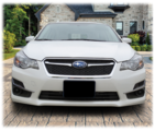 Front License Plate Mount 2015-2016 Impreza
