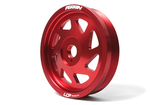 CLEARANCE - CRANK PULLEY LIGHT WEIGHT /RED [ BRZ ]