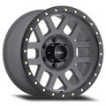 Wheel, Method Grid - 18x9 -12mm, 6x5.5 Titanium Face/Matte Black Lip