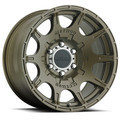 Wheel, Method Roost - 18x9 -12mm, 6x5.5 Bronze Finish