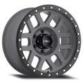 Wheel, Method Grid - 18x9 +0mm, 6x5.5 Titanium Face/Matte Black Lip