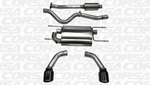 "Exhaust System, Corsa 2.5"" Sport Black Tips - Scion FR-S"