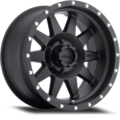 Wheel, Method Standard - 20x9.0 +18mm, 6x5.5 Matte Black Finish