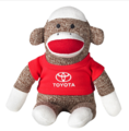 Toyota Sock Monkey