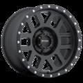 Wheel, Method Mesh - 20x9 +18mm, 6x5.5 Matte Black Finish