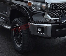 Fender Flares, Painted Pocket Style - Tundra, 2014-2018, 218 - Attitude Black