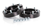"""Spidertrax Toyota 6 on 5-1/2"""" x 1-1/4"""" Thick Black Wheel Spacer Kit"""