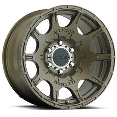 Wheel, Method Roost - 20x9.0 +18mm Offset, 5x150 Bronze Finish