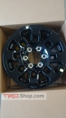 17+ Tacoma TRD Pro 16in Alloy Wheels(Gloss Black, 6 on 139.7mm w/ 13mm Offset)