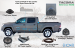 Audio, OEM Audio+ Reference 450Q - Tacoma Double Cab (2005-2015)