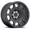 Wheel, Method Roost - 18x9 +18mm, 6x5.5 Matte Black Finish