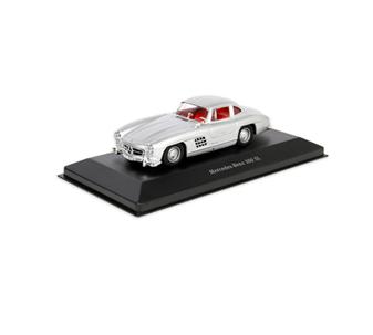 300 Silver W198 I Gullwing, 1954-57, 1:43
